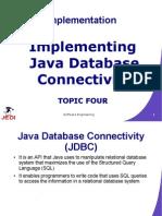 MELJUN CORTES JEDI Slides-5.4 Implementing JDBC