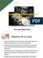 Control de Crecimiento y Desarrollo Clase 4
