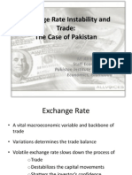 Exchange Rate Instability and Trade