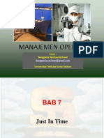 Manajemen Operasi - Chapter 7