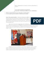 Plan de Gestión de Riegos y Adaptación al Cambio Climático demandara S. 1,950 millones hasta el 2021