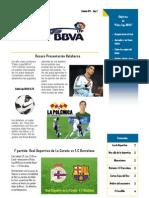 Boletin Palco Liga BBVA 2º año 1ª Edicion IMPRIMIR