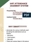 Smart Attendance Management Sytem