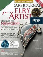 Lapidary Journal Jewelry Artist May June 2012
