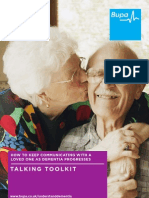 Bupa Care Talking Toolkit