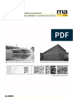 Teorías de la Arquitectura Contemporánea I