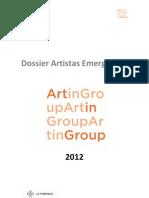 Dossier Emergentes Artingroup 2012
