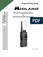 SP-400 Series Programming Guide