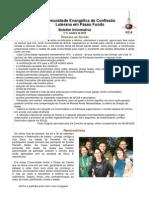 Boletim Eletrônico Comunidade Passo Fundo outubro 2012