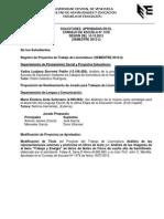 #EducaciónUCV Minuta Consejo Escuela de Educación 1478. 10.10.12 #UCV