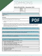 Application - Art of Hosting December 2012