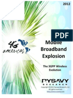 4G Americas Mobile Broadband Explosion August 20121