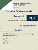 b - Exercicios Poscomp e Enade