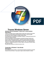 Trucos Windows 7 All Versions!!