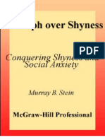 Triumph Over Shyness Conquering Shyness & Social Anxiety-McGraw-Hill(2001)