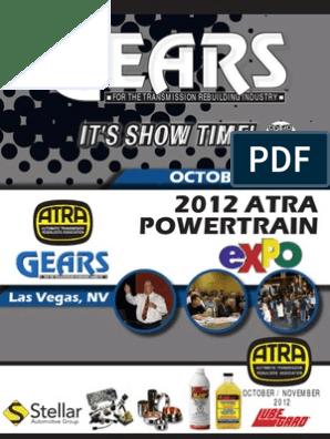 It'S Show Time!: 2012 ATRA Powertrain