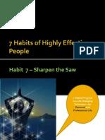 7 Habits -Habit Seven - 17 May 2012