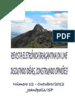 Revista Eletrônica Bragantina On Line - Outubro/2012