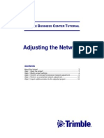 Adjusting the Network