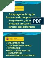 Proyecto de integración cooperativa