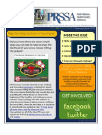 PRSSA February_March Newsletter