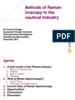 Current Methods of Raman Spectroscopy in the Pharmaceutical Apps Dec 2011