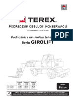 Terex 5022 Operator manual PL