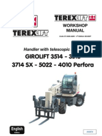 Terex 5022 Service Manual Global EN