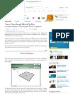Como Usar Google SketchUp Free