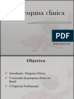 Pesquisa Clinica