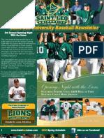 Saint Leo Baseball Newsletter