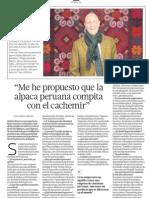 Alpaca Peru Conquista El Mundo