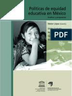CONAFE Politicas de Equidad Educativa en Mexico