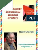 Noam Chomsky and Universal Grammar Structure