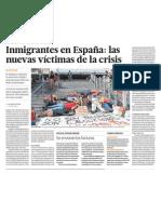 Crisis economica e immigrantes España