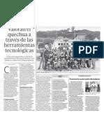 El Quechua y La Tecnologia