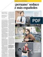 Españoles buscan trabajo en Peru