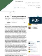 As Marcas Mais Digitais Do Brasil