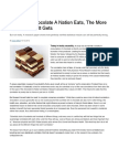 Chocolate Consumption and Nobel Prizes