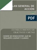 PLAN GENERAL DE ACCIÓN