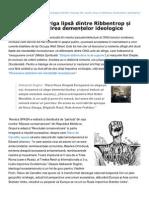 Inliniedreapta.net-Vasile Ernu, Veriga Lipsa Dintre Ribbentrop Si Molotov. Infrirea Demenelor Ideologice