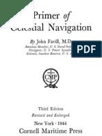A Primer of Celestial Navigation, Favil