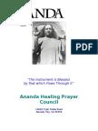 Ananda Healing Prayer Council