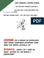 Idiom Powerpoint