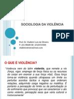Sociologia Da Violencia - Aula Julho 2012