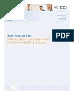 Deal Registration Best Practices