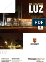 Brochure Barranco Luz