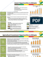 Agricultural Investment Opportunities in Ethiopia ATA 2012