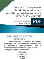 Prevenção e controle de ITU