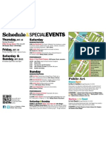 Fort Point Open Studios 2012 ScheduleEvents